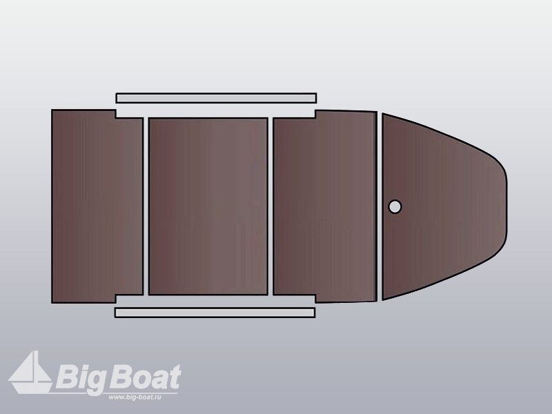 Стрингер алюминиевый для пайолы 9/750 мм