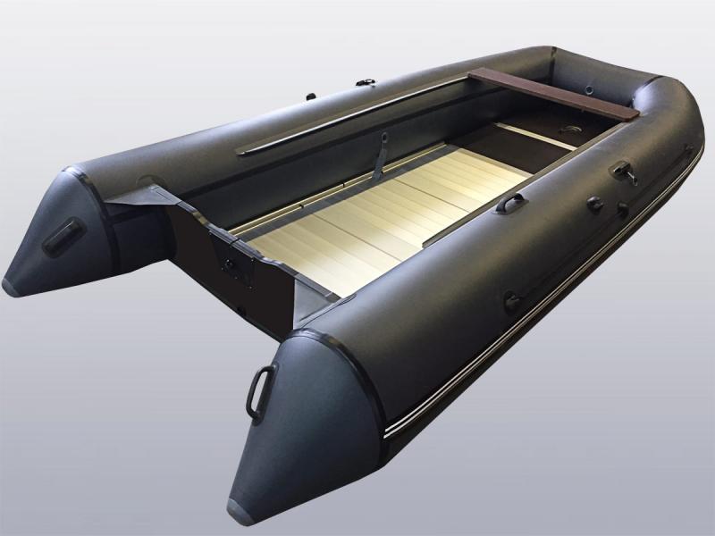 Алюминиевый пол (модели до 3.4 метров включительно)